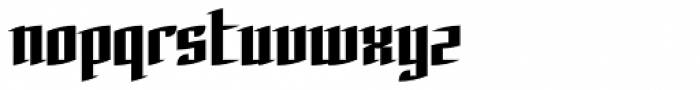 Charta Roman Font LOWERCASE