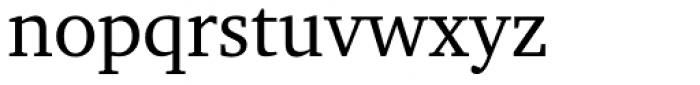 Charter BT Pro Roman Font LOWERCASE