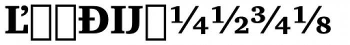 Charter Extension Black Font UPPERCASE
