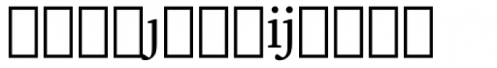 Charter Extension Font LOWERCASE