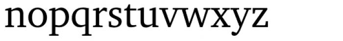 Charter OSF Roman Font LOWERCASE