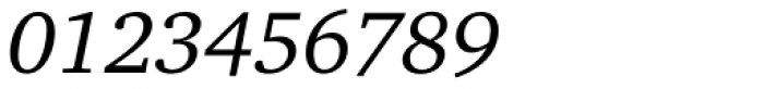 Charter Pro Italic Font OTHER CHARS