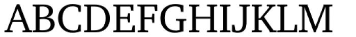 Charter Pro Regular Font UPPERCASE