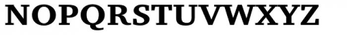 Charter Small Cap Bold Font UPPERCASE
