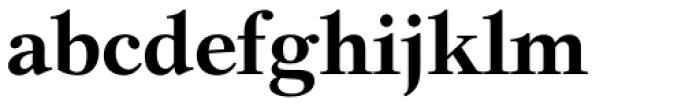 Chasseur BQ Medium Font LOWERCASE