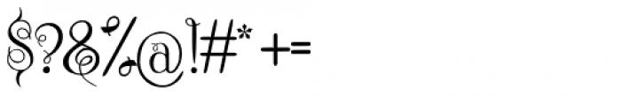 Chattelyne Regular Font OTHER CHARS