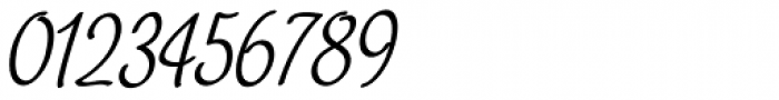 Chatter Condensed Oblique Font OTHER CHARS