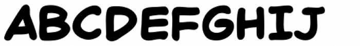 Chatterbox Bold Font UPPERCASE