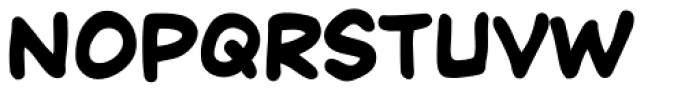 Chatterbox Bold Font LOWERCASE