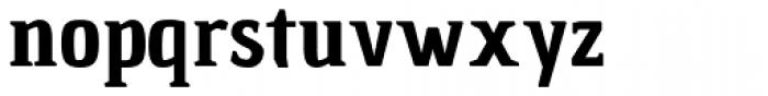 Chau Marbella Bold Font LOWERCASE
