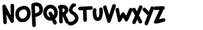 Chauncy Fatty Font UPPERCASE