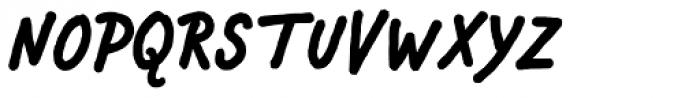 Chauncy Pro Bold Italic Font UPPERCASE