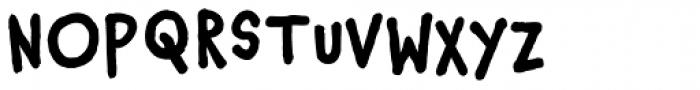 Chauncy Pro Bold Font UPPERCASE