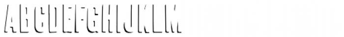 Cheap Pine-Shadow Font UPPERCASE