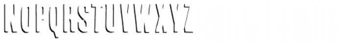 Cheap Pine-Shadow Font LOWERCASE