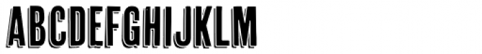 Cheap Pine Font UPPERCASE