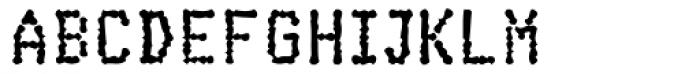 Cheapo Heavy Font UPPERCASE