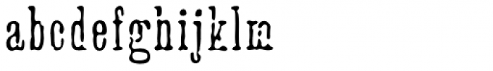 Cheapside Font LOWERCASE