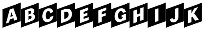 Checker Font UPPERCASE