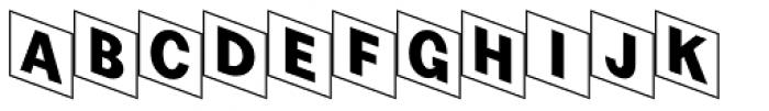 Checker Font LOWERCASE