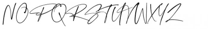 Checkmark Regular Font UPPERCASE