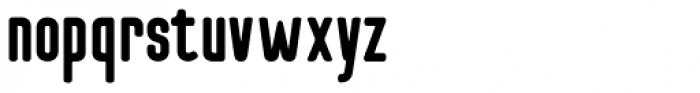 Checkpoint Bold Font LOWERCASE