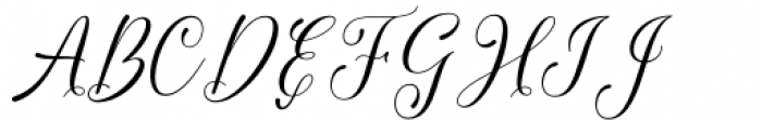 Chedaty Regular Font UPPERCASE