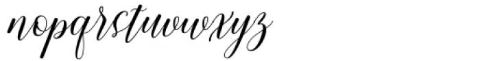 Chedaty Regular Font LOWERCASE