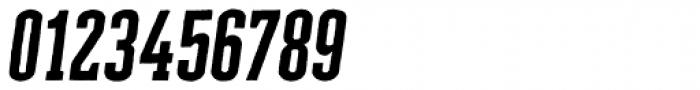 Cheddar Gothic Slab Italic Font OTHER CHARS