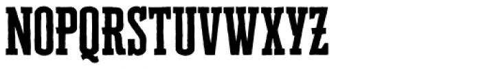Cheddar Gothic Slab Font UPPERCASE