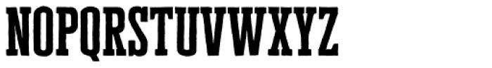Cheddar Gothic Slab Font LOWERCASE