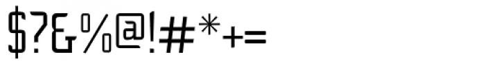 Cheek PT Regular Font OTHER CHARS