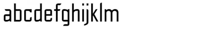 Cheek PT Regular Font LOWERCASE