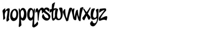 Cheeky Monkey Font LOWERCASE