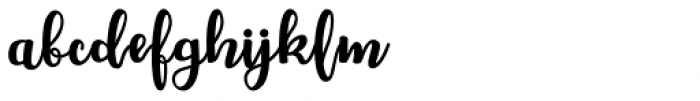 Chellion Regular Font LOWERCASE