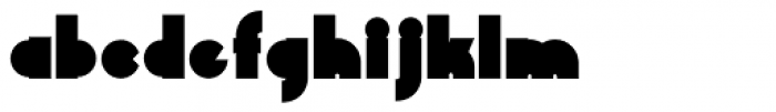 Chelsnuts Black Font LOWERCASE