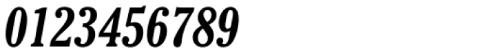Cheltenham Bold Condensed Italic Font OTHER CHARS