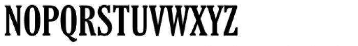 Cheltenham Bold Extra Condensed Font UPPERCASE