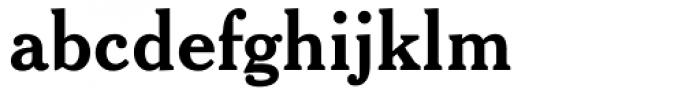Cheltenham Bold Headline Font LOWERCASE