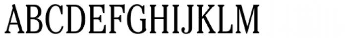 Cheltenham Cond Light Font UPPERCASE