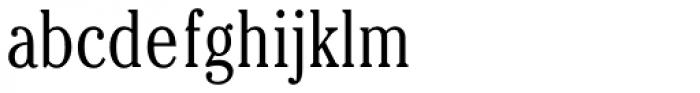 Cheltenham Cond Light Font LOWERCASE
