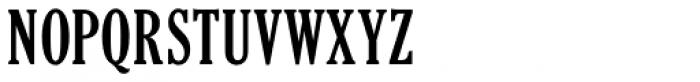 Cheltenham ExtraCondensed Pro Bold Font UPPERCASE