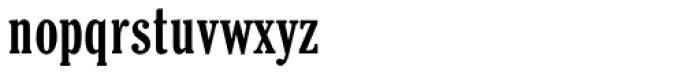 Cheltenham ExtraCondensed Pro Bold Font LOWERCASE