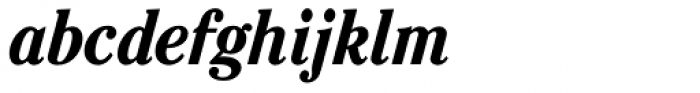 Cheltenham Pro Condensed Bold Italic Font LOWERCASE