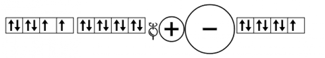 Chem Symbol Two Font OTHER CHARS