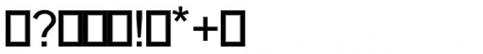 Chemsymbols LT One Font OTHER CHARS