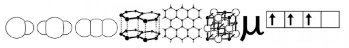 Chemsymbols LT Two Font UPPERCASE