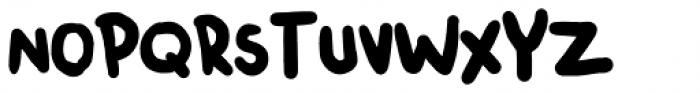 Chendolle Regular Font UPPERCASE