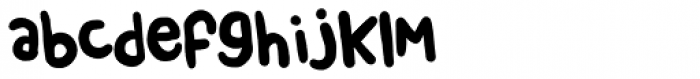 Chendolle Regular Font LOWERCASE
