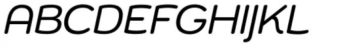 Chennai Oblique Font UPPERCASE